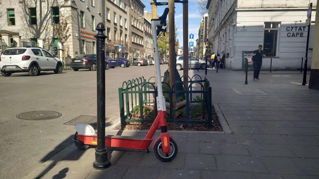 hulajnogi elektryczne w Krakowie