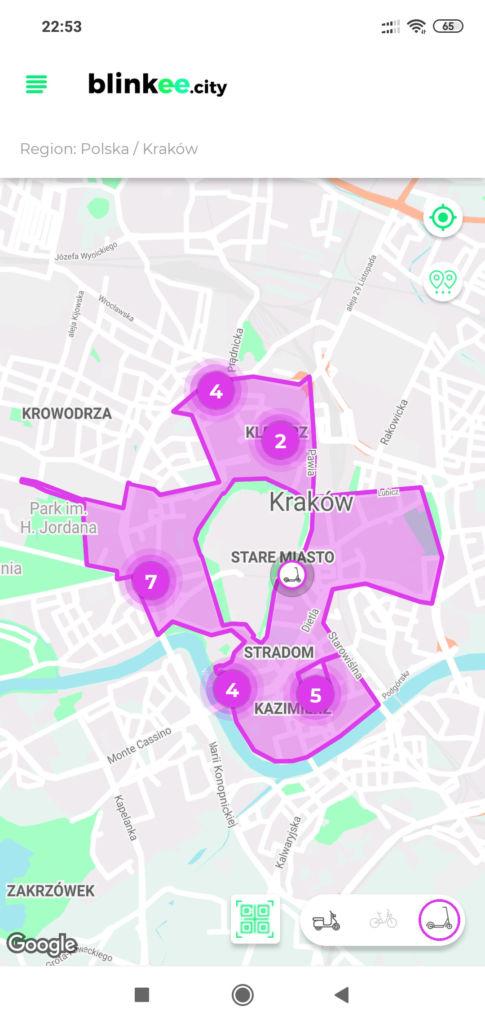Blinkee - Hulajnogi Kraków Warszawa