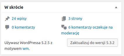 Jak sprawdzić wersję WordPressa